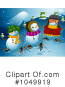 Snowman Clipart #1049919 by BNP Design Studio