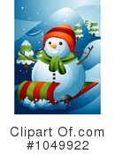 Snowman Clipart #1049922 by BNP Design Studio