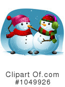 Snowman Clipart #1049926 by BNP Design Studio