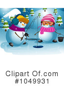 Snowman Clipart #1049931 by BNP Design Studio
