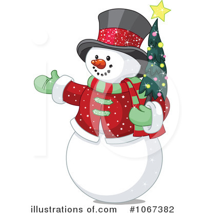 Snowman Clipart #1067382 by Pushkin