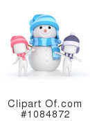 Snowman Clipart #1084872 by BNP Design Studio