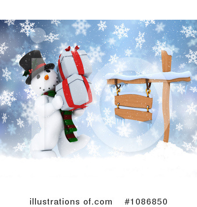 Christmas Gift Clipart #1086850 by KJ Pargeter