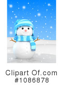 Snowman Clipart #1086878 by BNP Design Studio