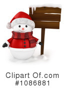 Snowman Clipart #1086881 by BNP Design Studio
