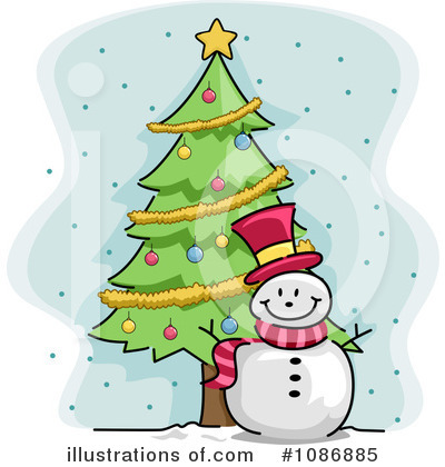 Christmas Tree Clipart #1086885 by BNP Design Studio