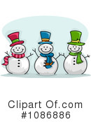 Snowman Clipart #1086886 by BNP Design Studio