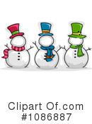 Snowman Clipart #1086887 by BNP Design Studio