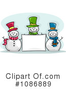 Snowman Clipart #1086889 by BNP Design Studio
