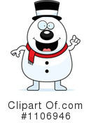 Snowman Clipart #1106946 by Cory Thoman