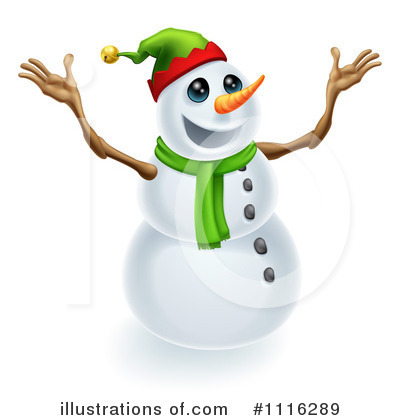 Snowman Clipart #1116289 by AtStockIllustration