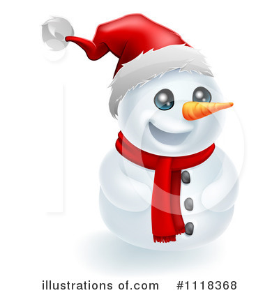 Snowman Clipart #1118368 by AtStockIllustration