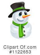 Snowman Clipart #1122653 by AtStockIllustration