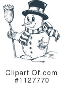 Snowman Clipart #1127770 by visekart