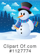 Snowman Clipart #1127774 by visekart