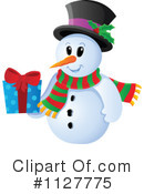Snowman Clipart #1127775 by visekart