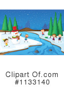 Snowman Clipart #1133140 by Graphics RF