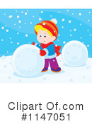 Snowman Clipart #1147051 by Alex Bannykh