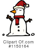 Snowman Clipart #1150164 by lineartestpilot