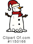 Snowman Clipart #1150166 by lineartestpilot