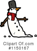 Snowman Clipart #1150167 by lineartestpilot