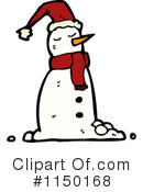 Snowman Clipart #1150168 by lineartestpilot