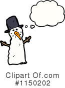 Snowman Clipart #1150202 by lineartestpilot