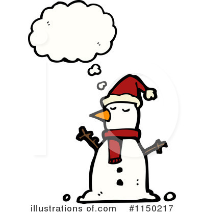 Snowman Clipart #1150217 by lineartestpilot