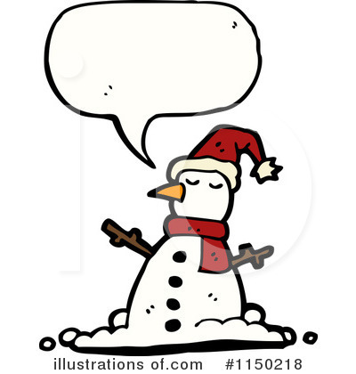 Snowman Clipart #1150218 by lineartestpilot