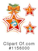Snowman Clipart #1156000 by merlinul