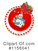 Snowman Clipart #1156041 by merlinul