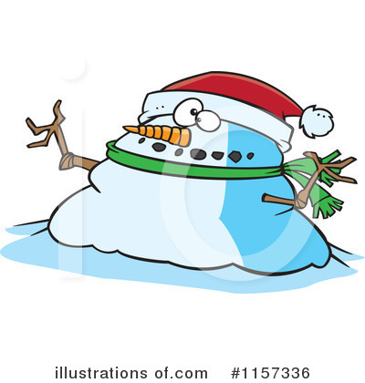 Snowman Clipart #1157336 by toonaday