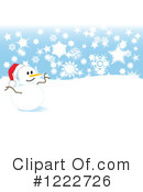 Snowman Clipart #1222726 by tdoes