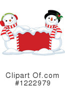 Snowman Clipart #1222979 by Pushkin
