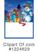 Snowman Clipart #1224629 by visekart