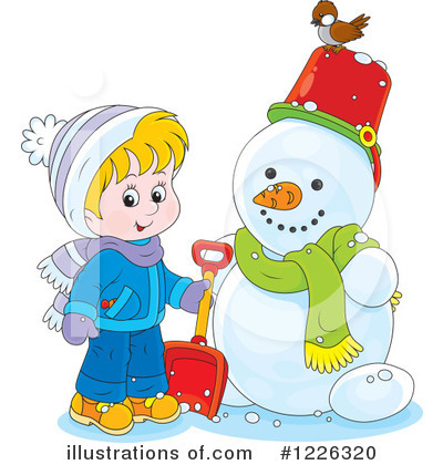 Winter Clipart #1226320 by Alex Bannykh