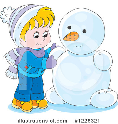 Winter Clipart #1226321 by Alex Bannykh
