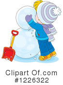 Snowman Clipart #1226322 by Alex Bannykh