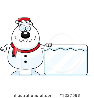 Snowman Clipart #1227098 by Cory Thoman