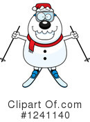 Snowman Clipart #1241140 by Cory Thoman