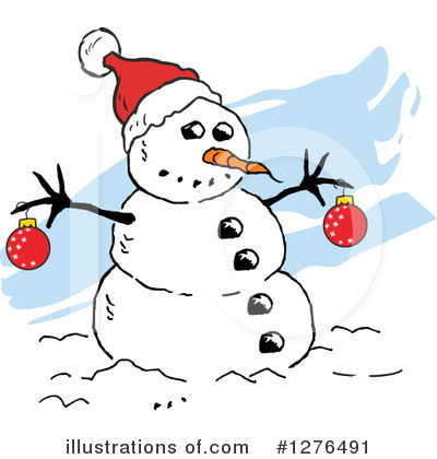 Christmas Clipart #1276491 by Johnny Sajem
