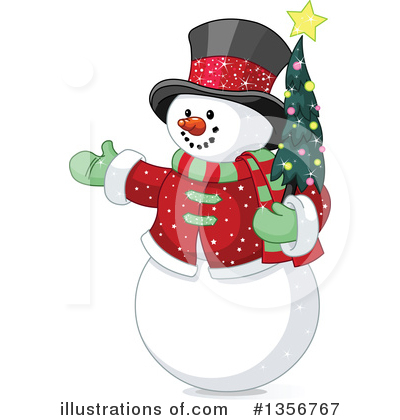 Christmas Tree Clipart #1356767 by Pushkin