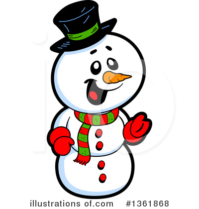 Christmas Clipart #1361868 by Clip Art Mascots