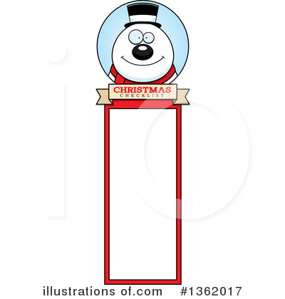 Snowman Clipart #1362017 by Cory Thoman