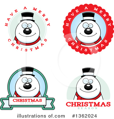 Snowman Clipart #1362024 by Cory Thoman