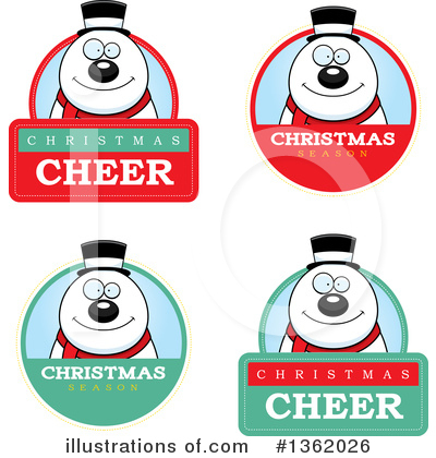 Snowman Clipart #1362026 by Cory Thoman