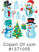 Snowman Clipart #1371005 by visekart