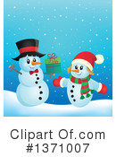 Snowman Clipart #1371007 by visekart