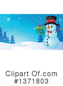 Snowman Clipart #1371803 by visekart