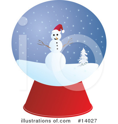 Snow Globe Clipart #14027 by Rasmussen Images